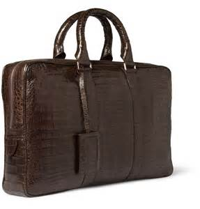 Men Leather Briefcase Bag