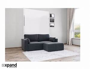 Murphysofa minima sectional expand furniture folding for Sectional sofa murphy bed