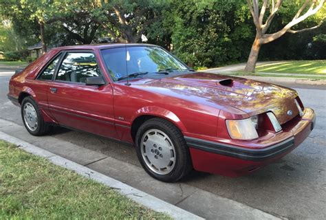 1984 Ford Mustang Svo For Sale On Bat Auctions  Sold For