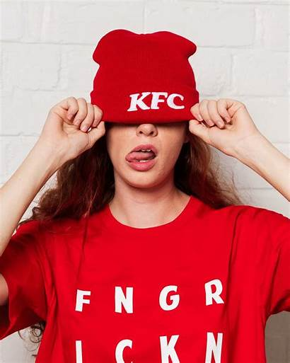 Kfc Beanie Merch Dropped Delicious Ready