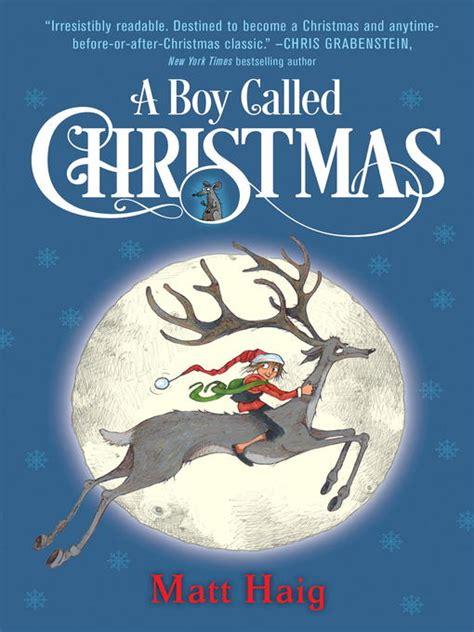 what is christmas called a boy called by matt haig audiobook review