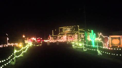a drive through tour of overly 39 s country christmas light