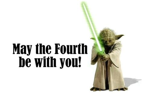 Yoda- May the 4th be with you