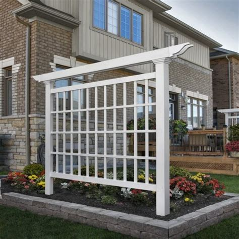 Backyard Privacy Screens Trellis by 15 Outdoor Privacy Screen And Pergola Ideas