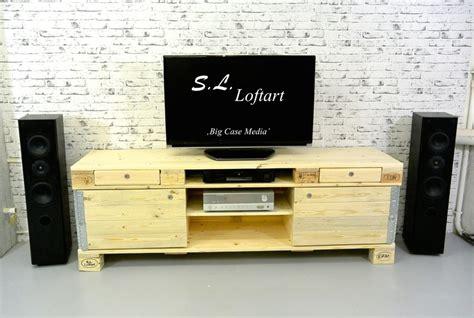 Lowboard Aus Paletten by Paletten Lowboard Sideboard Hifi Board Europaletten