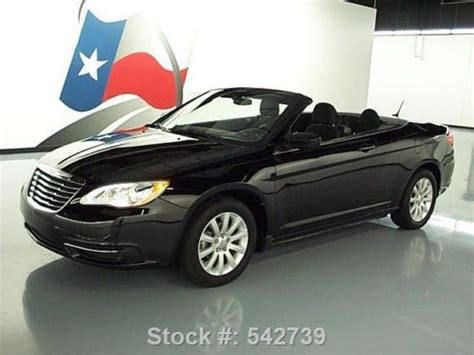 purchase used 2011 chrysler 200 touring convertible alloy