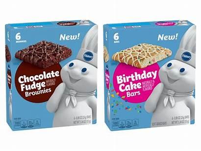 Pillsbury Cake Birthday Bars Fudge Chocolate Snack