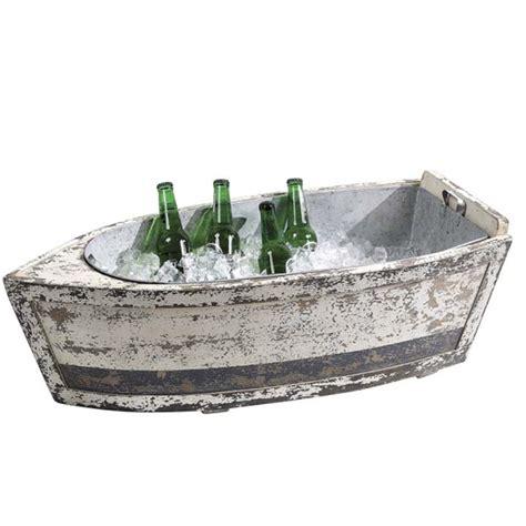 decorative kitchen islands wood boat beverage tub de6127