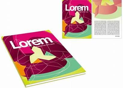 Magazine Vector Graphics Template Graphic Elements Books