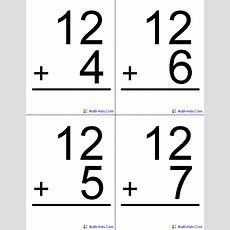 Flash Cards  Math Flash Cards