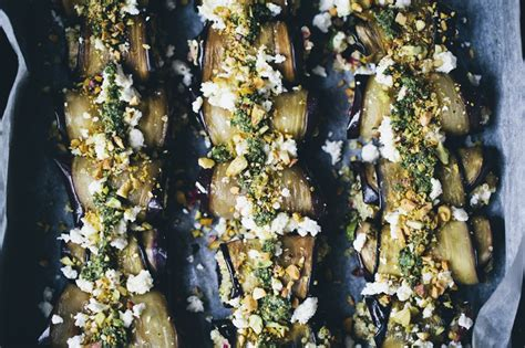 green kitchen stories summer aubergine rolls