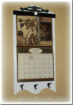 rustic style calendar holder color choice
