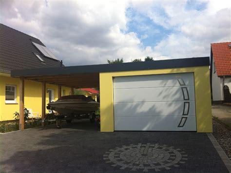 Vorteile Carport Garage by Garagen Carport Kombination Als Fertiggarage