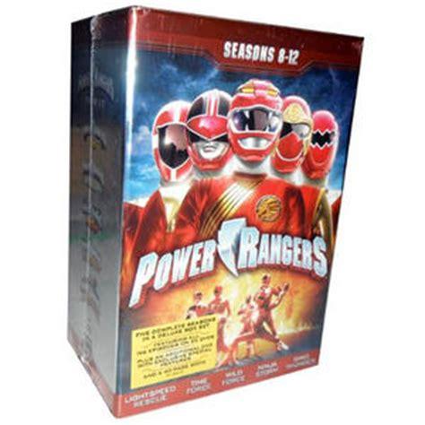 power rangers seasons   dvd box set power rangers