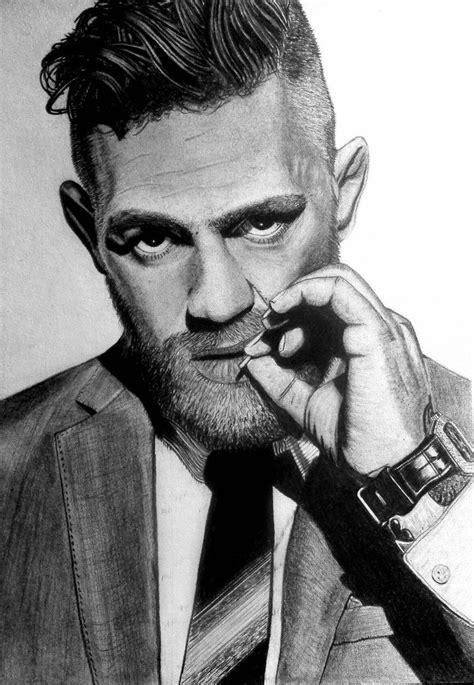 conor mcgregor pencil by eskeline0