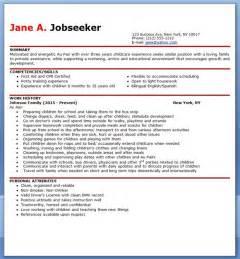Executive Style Resume Template Au Pair Resume Sle Resume Downloads