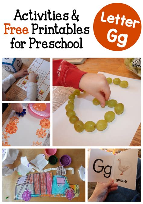 letter g activities for preschool a peek at our week 993 | letter G activities for preschool
