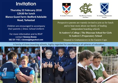 information evenings eastern cape st andrews college