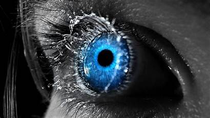 Splash Eyes Selective Definition Coloring Water Wallpapers