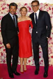 Red Carpet Roses by Renee Zellweger Joins Patrick Dempsey And Colin Firth At