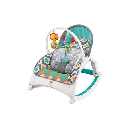 fisher price cmr newborn  toddler folding baby rocker