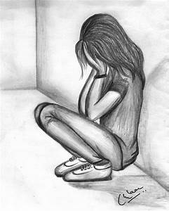 The 25+ best Sad girl drawing ideas on Pinterest | Cry ...