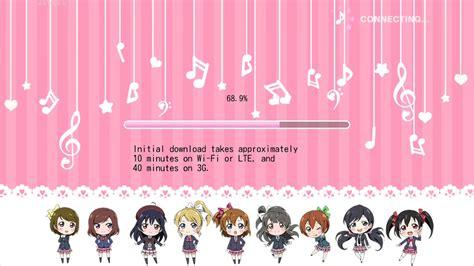 Kawaii love live loading screen - YouTube
