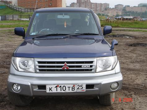 mitsubishi pajero io 1999 mitsubishi pajero io pictures information and