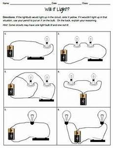Electric Circuits Worksheets Bundle | Electric circuit ...