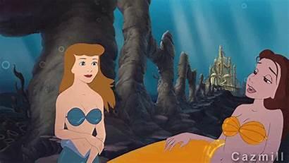 Belle Disney Cinderella Mermaids Princess Fanpop Friday