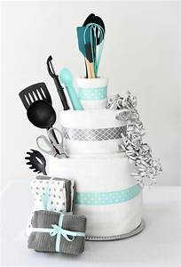bridal shower gift idea towel cake fun squared With gifts for a wedding shower