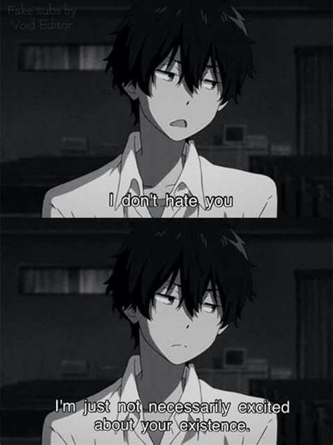damn  sarcasm sad anime quotes anime anime qoutes