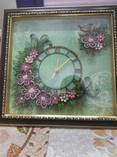 quelling clock art inspirations quilling craft
