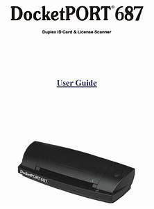 Ambir Docketport 687 User Manual Pdf Download