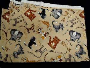 cat fabric cat fabric i on patchwork fabric cat