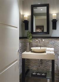 powder room ideas 25 Modern Powder Room Design Ideas