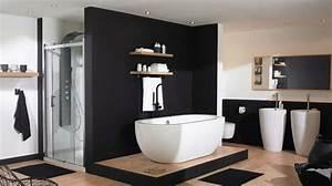 salle de bain moderne et design inspirations planetebain With porte d entrée pvc avec meuble de salle de bain style retro