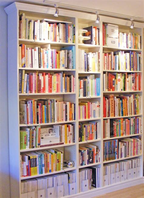 for the nook ikea bookcases but add trim and do lights