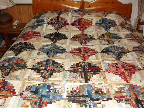 Log Cabin Quilt Patterns Looking For A Pattern For Curved Log Cabin Quilt
