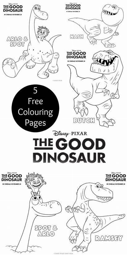Dinosaur Colouring Coloring Pages Printables Disney Printable