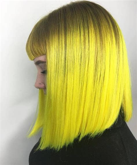 Black And Yellow Hair Color by Best 25 Yellow Hair Dye Ideas On Yellow Hair