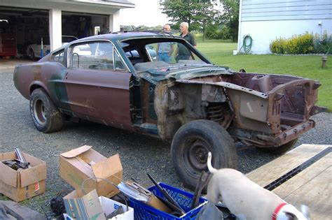1968 Mustang Fastback Project Car Cheap