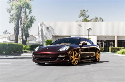 concept one wheels cs 6 panamera gold rennlist