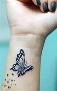 Tattoo Vorlagen Handgelenk : coole schmetterling tattoo ideen freshouse ~ Frokenaadalensverden.com Haus und Dekorationen