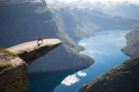 Student Falls To Death At Trolltunga Scenic Cliff In