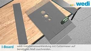 Wc Vorwandelement Verkleiden : wedi de l sungen wand wc montage mit dem i board ~ Michelbontemps.com Haus und Dekorationen