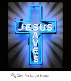 Jesus Saves Neon Sign only $299 99 Signs J