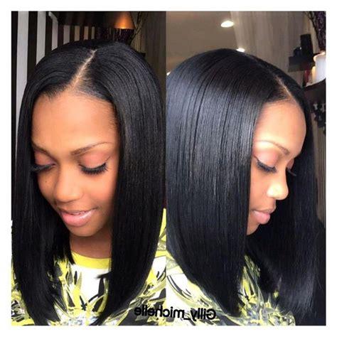 ideas  long bob hairstyles  bangs weave