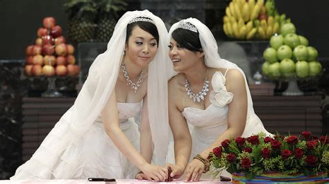 asia learn  taiwans  sex marriage victory