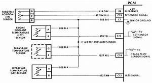 1996 Chevy Lumina Temperature Sensor Wiring